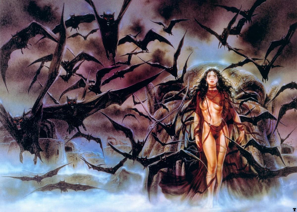 Один из любимых художников Luis Royo.